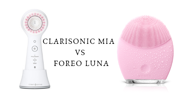 CLARISONIC VS FOREO LUNA (Beautiful skin with cleansing devices)